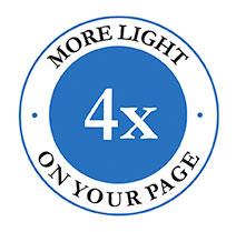 LED Floor Book Light