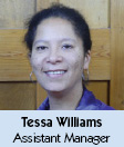 Tessa Williams - Assistant Manager