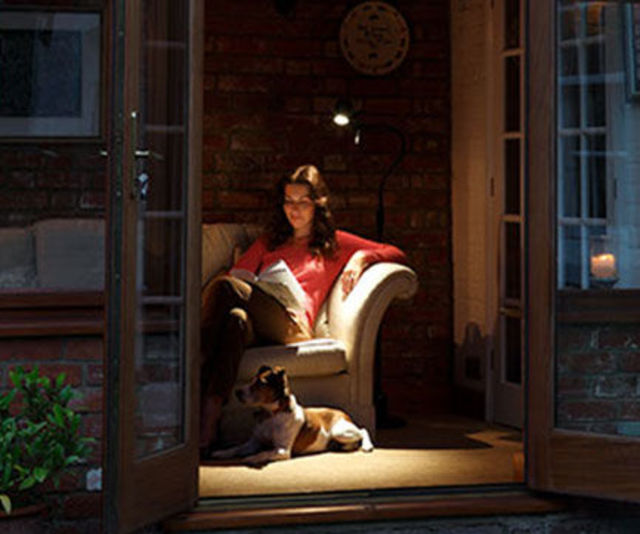 High Definition Floor Light for Reading - Conservatory